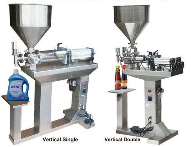 full view of liquid filling machine full pneumatic lotion cr