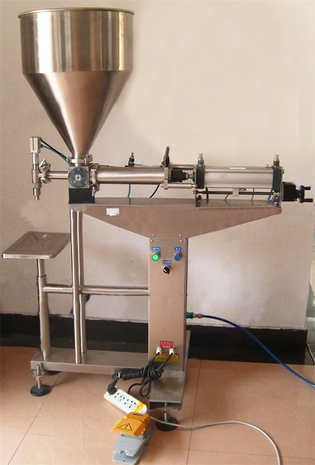 liquid filling machine full pneumatic lotion cream filler eq