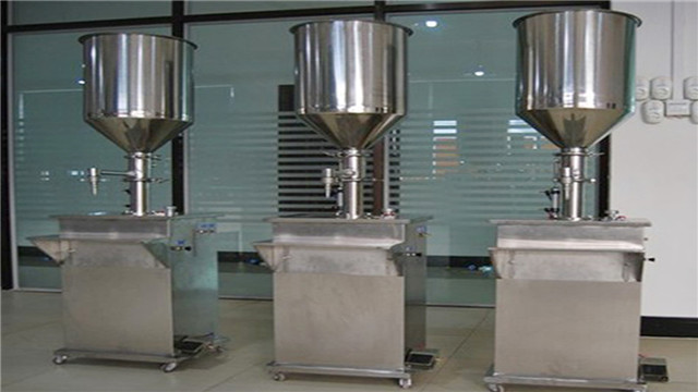 2000ml Vertical filling machine with double heads cream filler equipment semi automatic filling machine China Machines