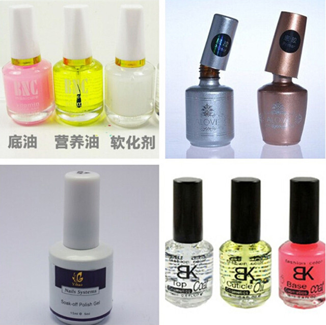 sample bottles to be filled by Nail polish eye drops filling
