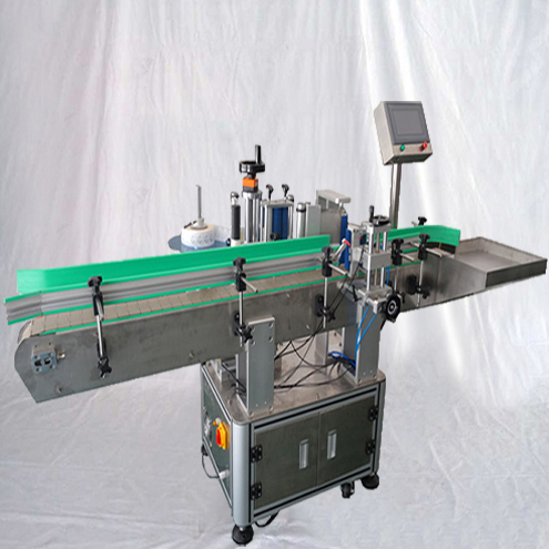 Automatic Linear Cans Bottles Non-dry Sticker Labeling Machine Wrap-around Labels Applicator for Metal Tins