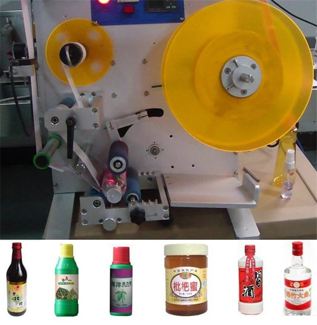 sample final products of Semi-automatic double side labeling