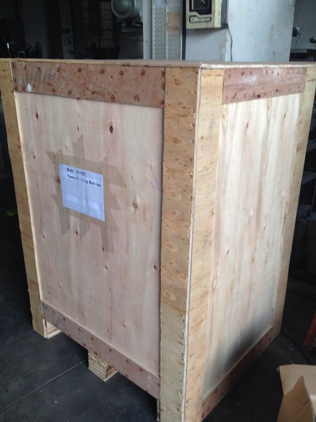 wooden case packing for YX-F02 auger filling machine.jpg