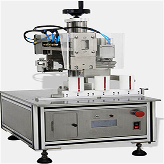 inline ultrasonic sealing machine sealer equipment for tubes plastic laminated hose straight line
