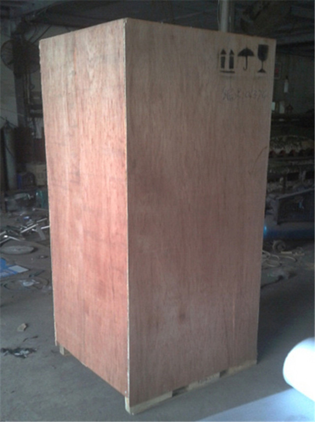 wooden case packing of reverse osmosis treatment industrial
