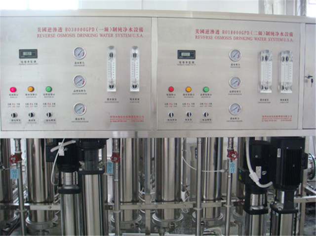 Stainless steel water purification filtration systems with EDI UV Accessories for dental hospital tap water purifying 1000L filtering treatment