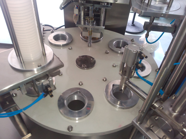 turntable of Rotary cups filling sealing machine.jpg