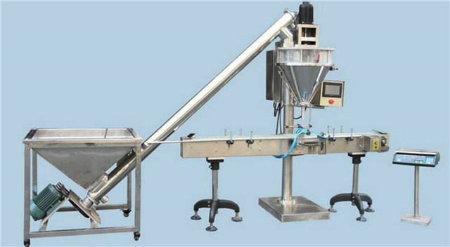 auger metering filling packing machine semi automatic equipment for milk powder soybean pharmaceutical bottle bag weigher filler machinery